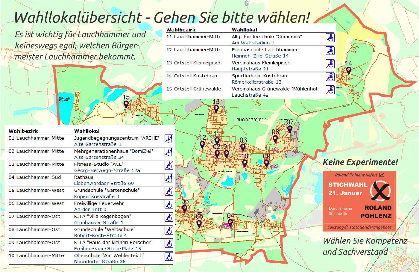 Wahllokale-Übersicht Lauchhammer Roland Pohlenz
