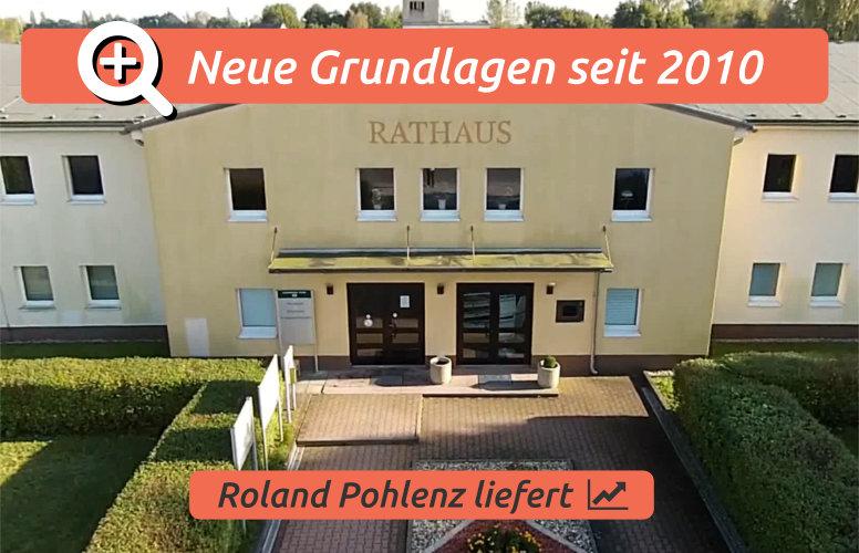 Roland Pohlenz: Entwicklungsgrundlagen für Lauchhammer seit 2010